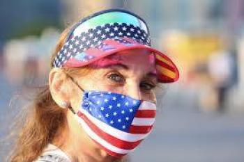 Gobernadores republicanos en Estados Unidos ordenan uso de cubrebocas