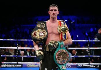 """Callum Smith: """"Canelo es buen boxeador pero en las 168 libras soy el mejor"""""""