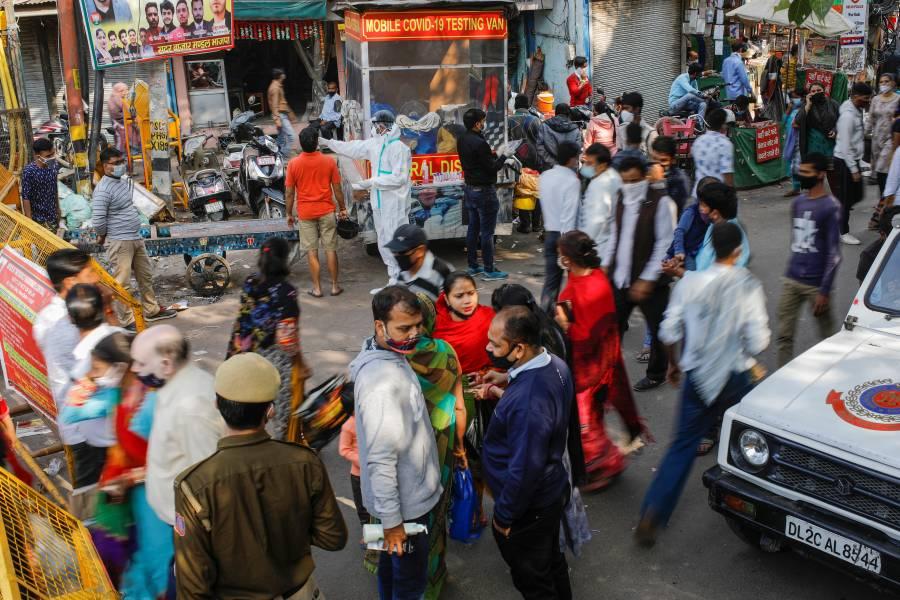 India se acerca a los 9 millones de casos de COVID-19