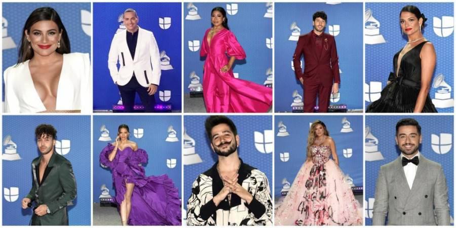 GALERIA: Los mejores vestidos en la pasarela de los Latin Grammy 2020