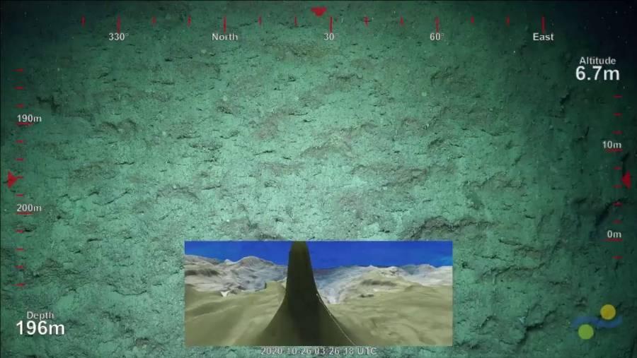 Descubren arrecife de coral en Australia, mas alto que el Empire State