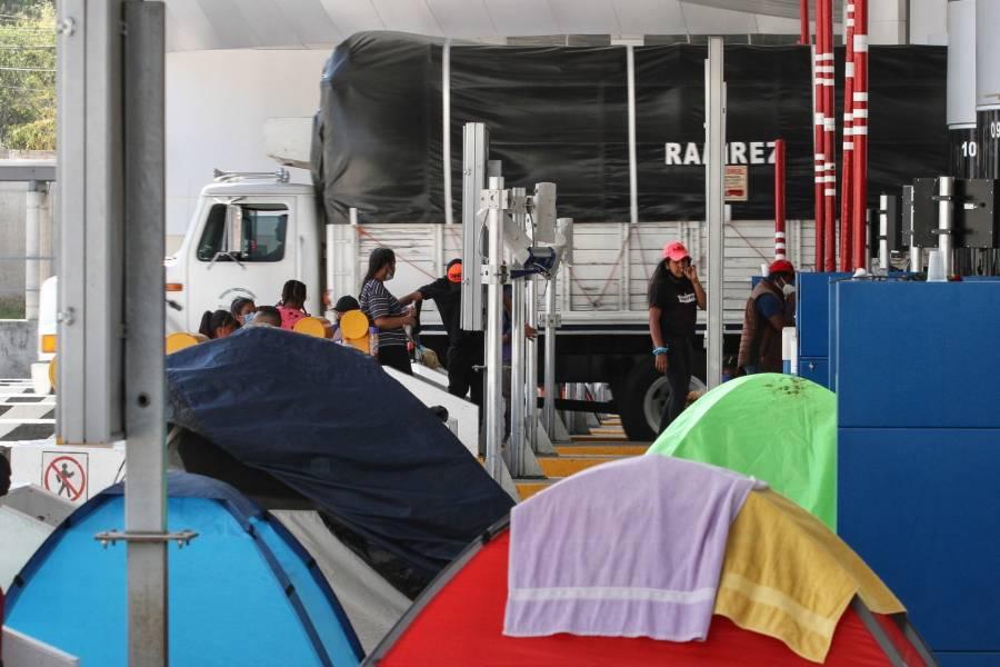 8 mil 608 mdp rescatados con operativos contra toma de casetas: Secretaría de Seguridad