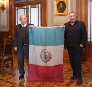 AMLO se reúne con Jesús Ochoa en Palacio Nacional