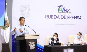 Francisco Cabeza de Vaca prometió que no habrá aumento de impuestos en Tamaulipas para el 2021
