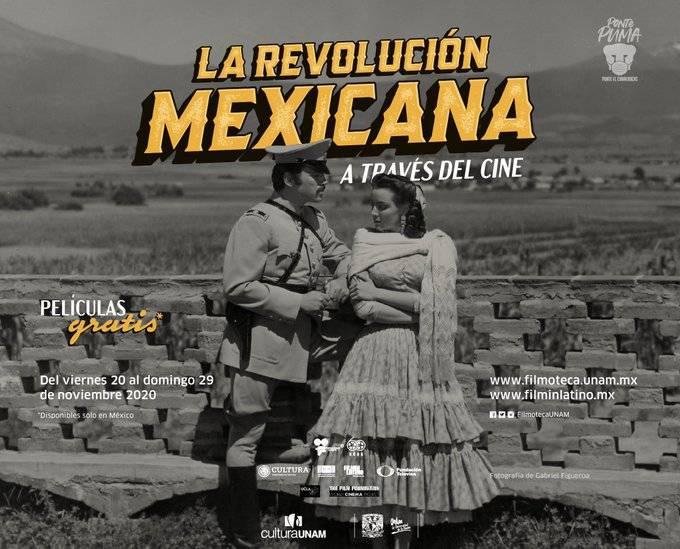 Por aniversario de la Revolución Mexicana, Filmoteca Nacional festeja con rodajes