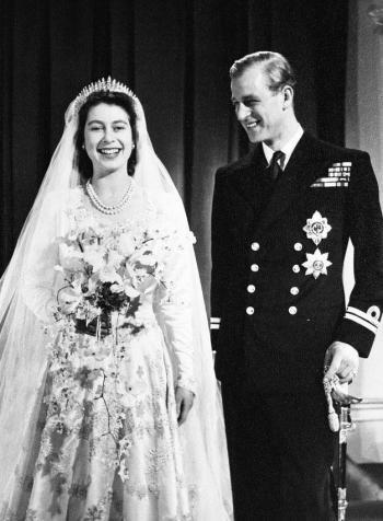 Reina Isabel del Reino Unido y su esposo Felipe celebran su 73 aniversario de bodas