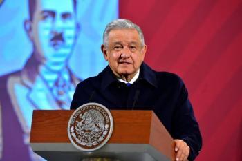 López Obrador conmemora 110 años del inicio de la Revolución Mexicana