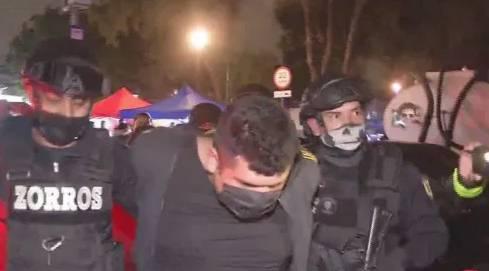 """Detienen a """"El Pechugas"""" integrante de la Unión en la CDMX"""