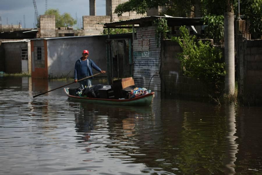 Continuarán las lluvias en el sureste de México durante el fin de semana