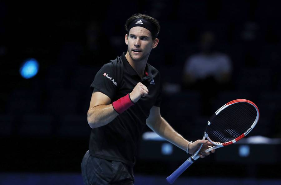 Dominic Thiem vence a Novak Djokovic y avanza a la final en ATP Finals