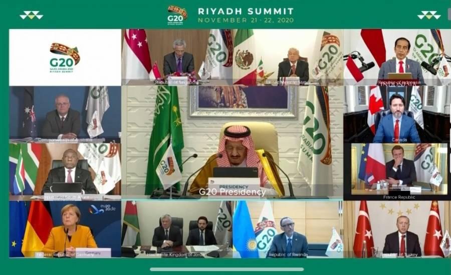AMLO participa en cumbre del G20 de manera virtual