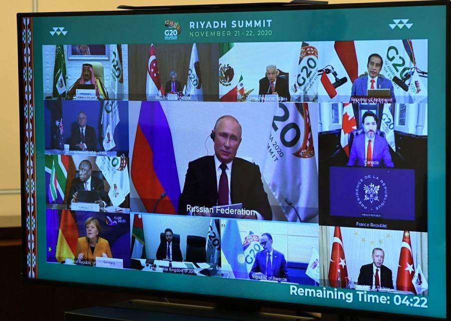 Líderes del G-20 prometen ayudar a naciones más pobres con recuperación del COVID-19