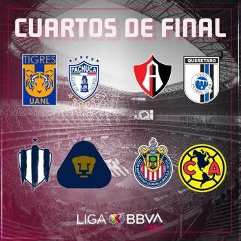 Quedan definidos los enfrentamientos para la Liguilla de la Liga MX Femenil