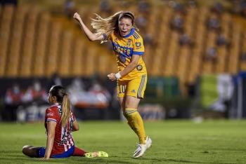 Katty Martínez obtiene el título de goleo en el Guardianes 2020 de la Liga MX Femenil