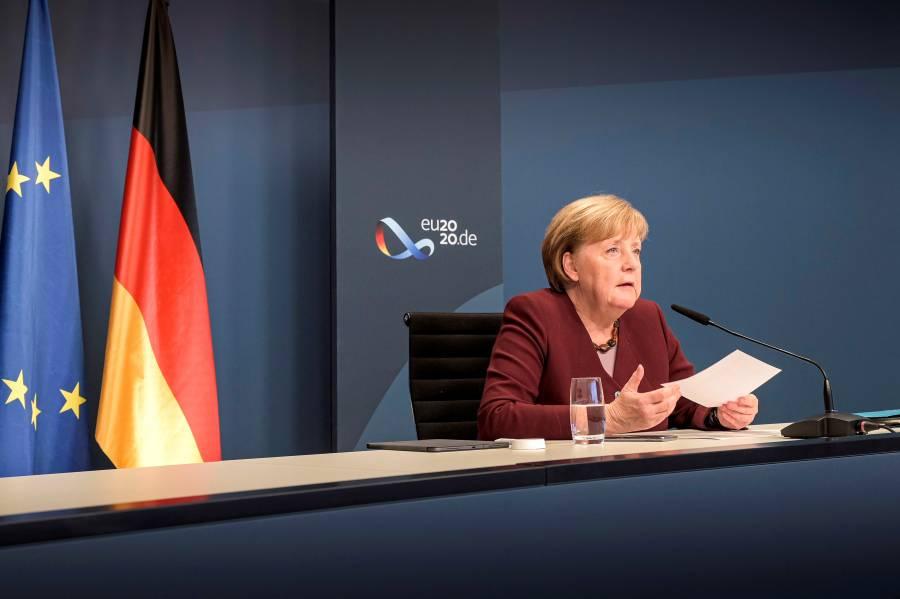 Angela Merkel urge al G20 garantizar el acceso mundial a una vacuna contra Covid-19