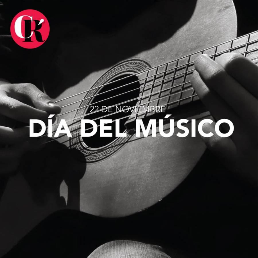 ¡Felicidades! Hoy es el Día del Músico