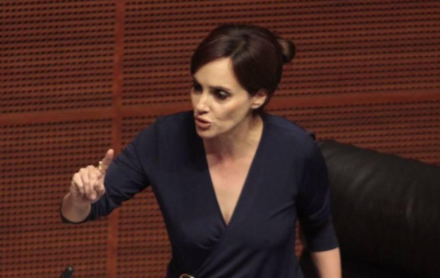 """""""Voté NO a la marihuana pero ganó el sí"""": Lilly Téllez tras aprobación en Senado"""