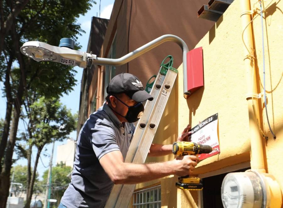 Instalan más de 2 mil cámaras para combatir delincuencia en Miguel Hidalgo