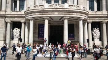 Vuelven a marchar integrantes de ESCENA en busca de apoyos ante crisis económica derivada de pandemia