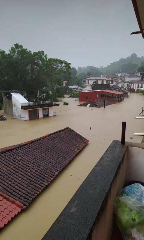 Declaran en alerta máxima a poblaciones de Tabasco por desbordamiento de Ríos