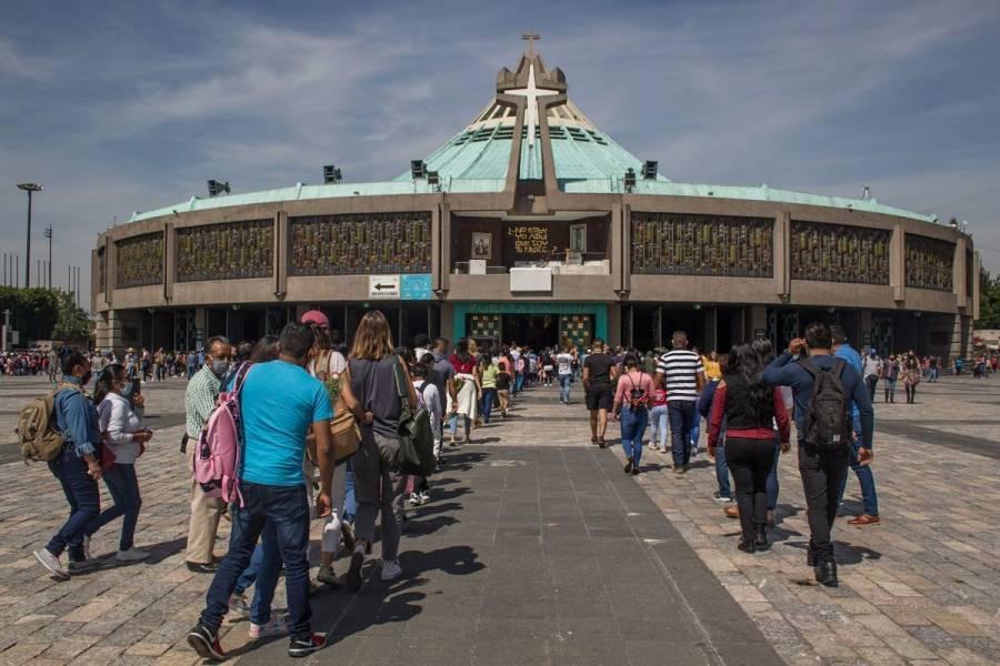 ¡Inédito! Basílica de Guadalupe cerrará sus puertas del 10 al 13 de diciembre
