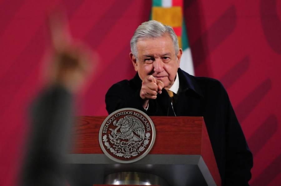 AMLO revisará cuáles senadores se oponen a quitarle el fuero presidencial
