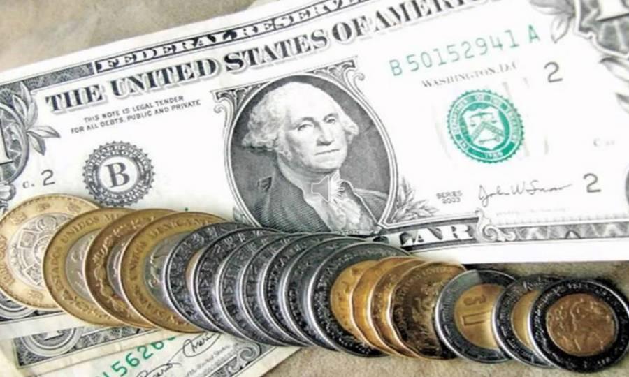Peso rompe racha de ganancias; supera la barrera de 20 unidades por dólar