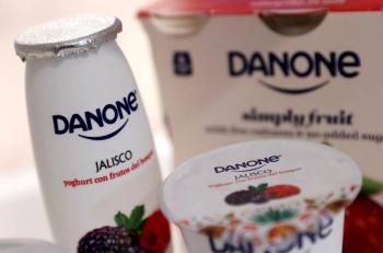 Danone eliminará empleos y productos en reestructuración por pandemia