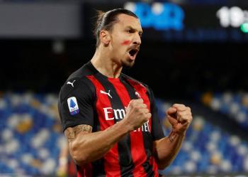 Zlatan Ibrahimovic será baja al menos dos semanas en AC Milan por lesión