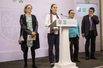 Sheinbaum presenta avances en combate a la violencia de género