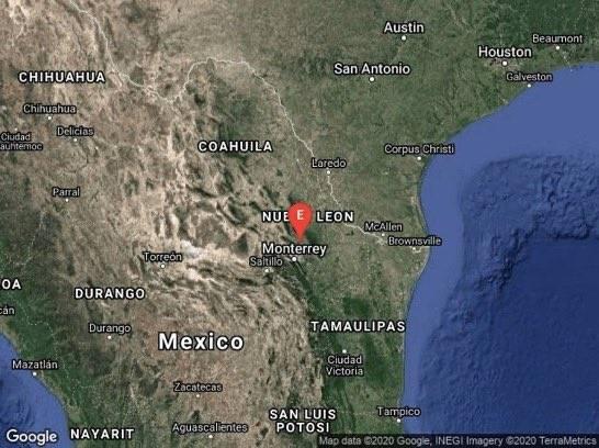 Se registra atípico movimiento telúrico en Nuevo León