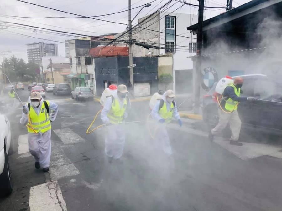 Realiza Cuajimalpa más acciones sanitarias contra Covid-19