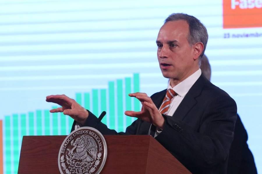 Llama Hugo López-Gatell a posponer fiestas para evitar contagios por COVID-19
