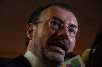 Mecanismo 'me salvo culpando a Videgaray' tiene un límite: responde Videgaray a Robles
