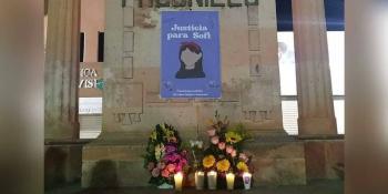 Investigan como feminicidio caso de Sofía Alejandra; queman palacio municipal en repudio