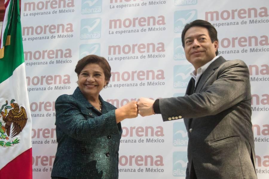 Anuncia Mario Delgado coalición entre Morena y Nueva Alianza