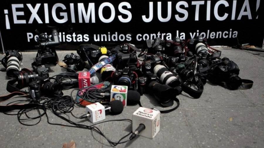 En 2020 se registra el mayor número de homicidios contra periodistas
