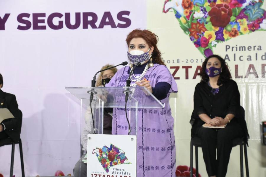 Ponen en marcha en Iztapalapa programa Puertas Violeta de apoyo a mujeres