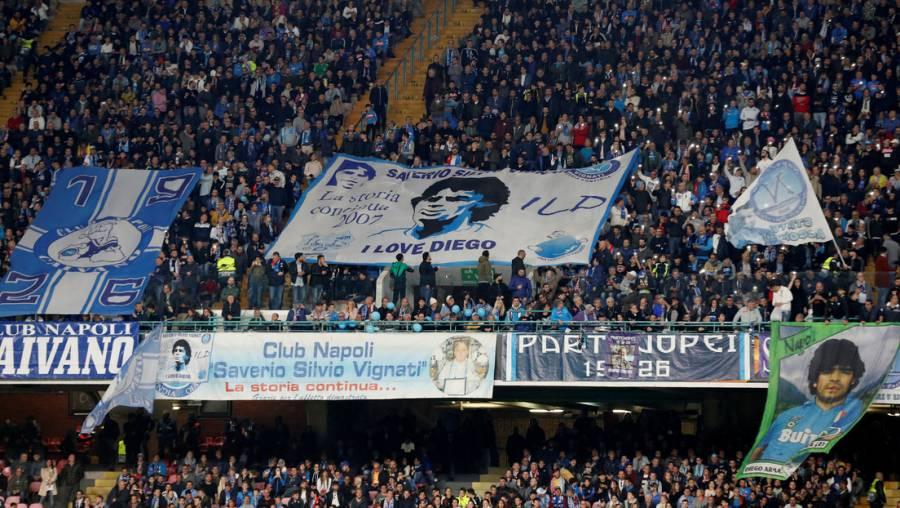 Napoli cambiará el nombre de su estadio a Diego Armando Maradona