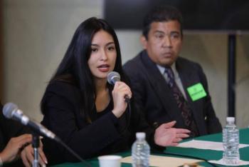 Frida Esparza Márquez exige no criminalizar protestas contra feminicidios