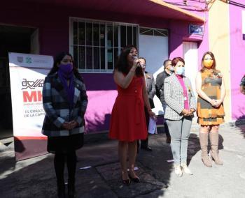 Alcaldía Miguel Hidalgo inaugura Ventana de Primer Contacto para atender a mujeres