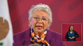 """4T es feminista"", asegura Olga Sánchez Cordero"