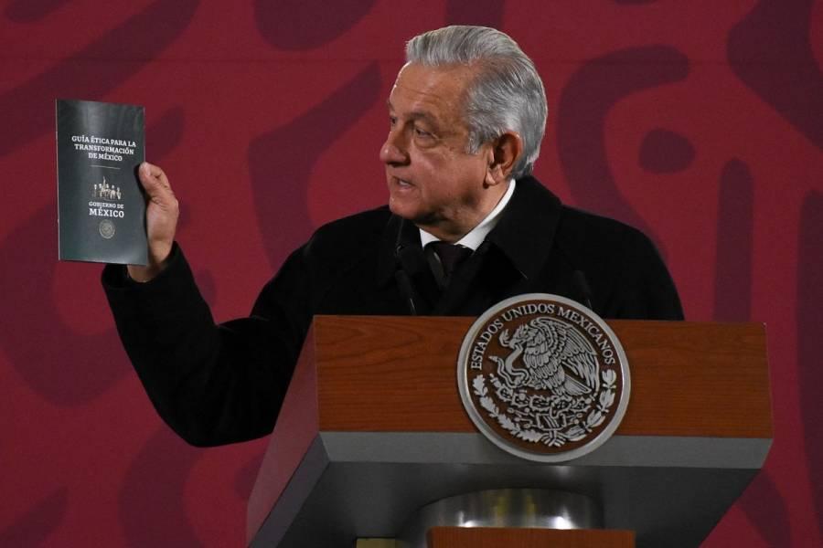 Se espera que todo mexicano tenga su Guía Ética de la 4T