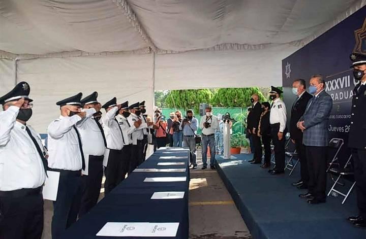 Se graduaron 428 cadetes del Servicio de Protección Federal
