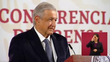 AMLO agradece a senadores por la eliminación del fuero presidencial