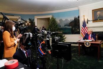 """Trump advierte: """"Van a pasar muchas cosas desde hoy hasta el 20 de enero"""""""