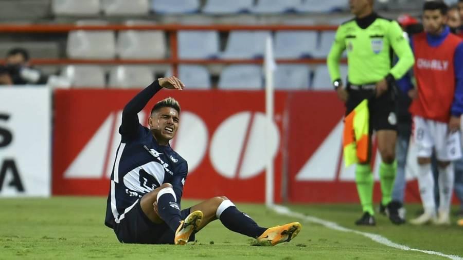 Favio Álvarez será baja con Pumas; no jugará vuelta de cuartos de final