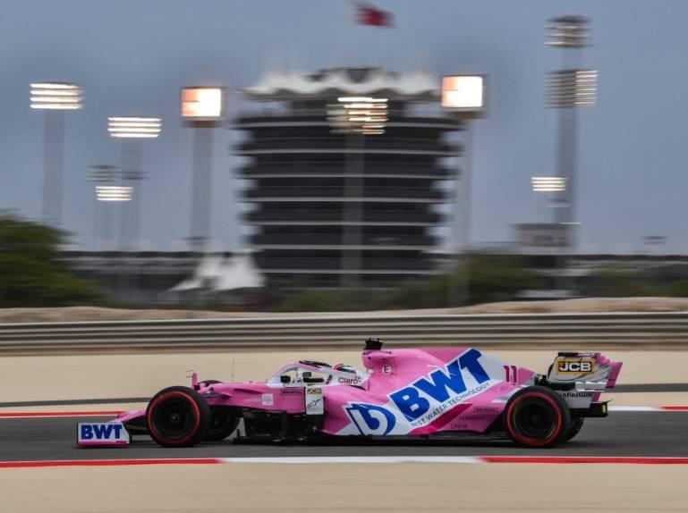 """""""Checo"""" Pérez saldrá quinto en el GP Bahréin; Hamilton se lleva la Pole"""