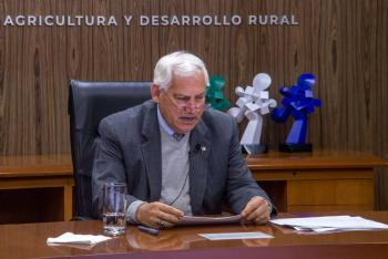 Promueve México, práctica de una agricultura rentable, responsable y resiliente: Villalobos Arámbula