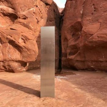 Desaparece el monolito de metal encontrado en el desierto de Utah